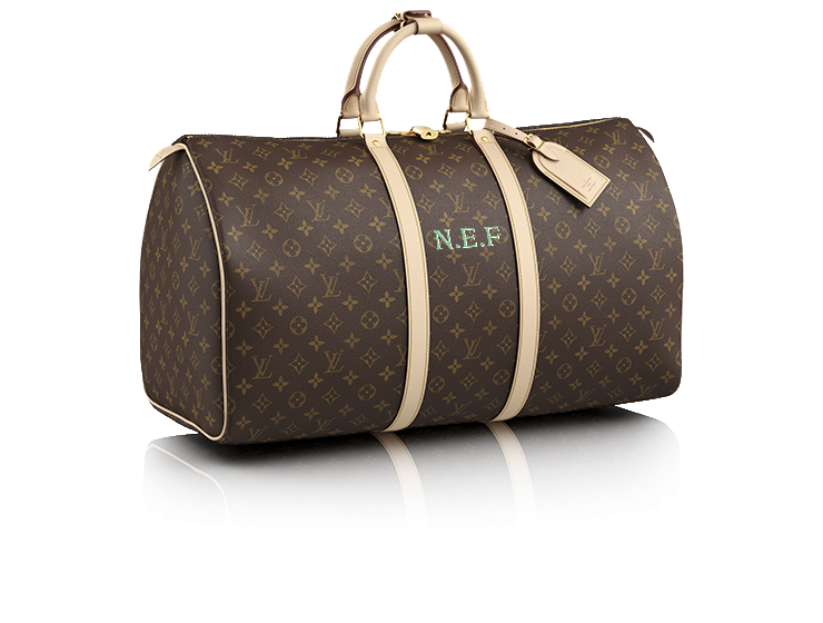 Louis Vuitton Monogrammed Luggage