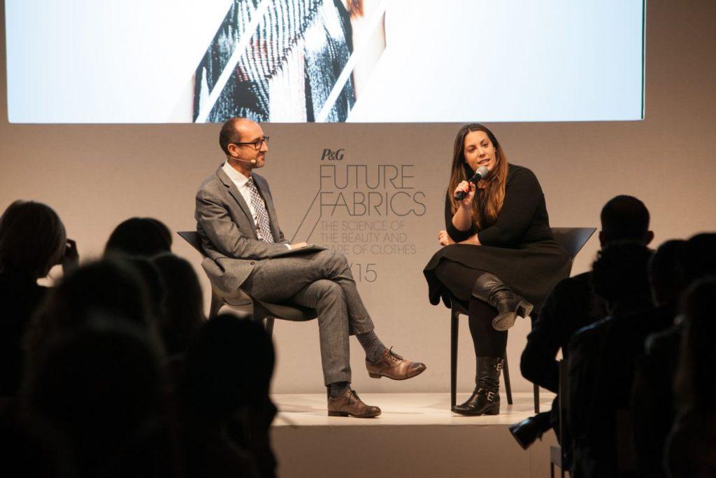 Mary Katranzou Future Fabrics P&G Berlin