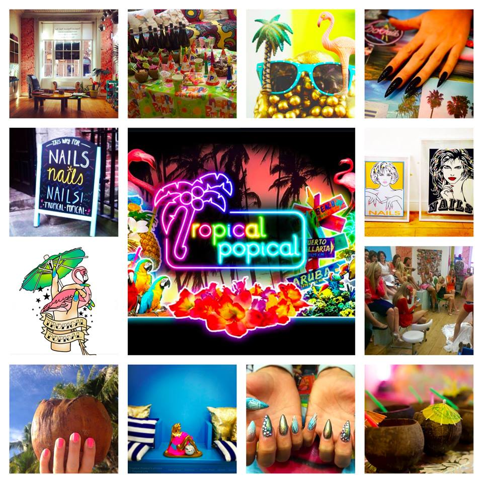 Tropical Popical nail salon