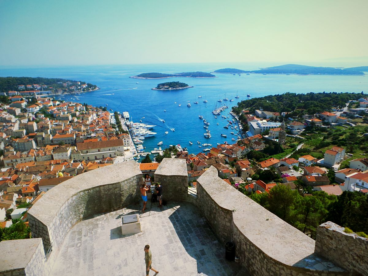 Hvar Fortress Nadia El Ferdaoussi Stephanie Be Travel Blogger Life Before Work LBW YachtLife Croatia TravelBreak
