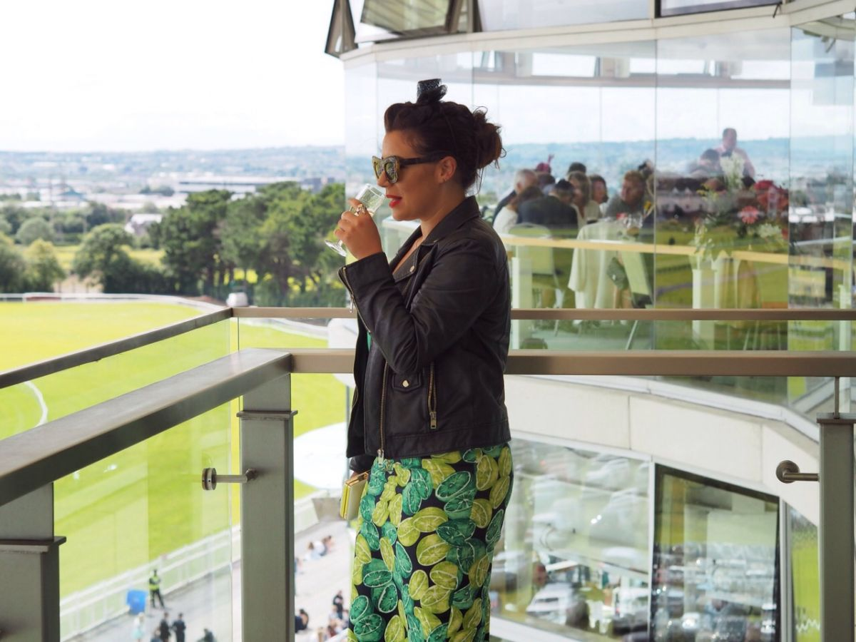 Nadia El Ferdaoussi ladies day Galway races Oasis fashion TK Maxx summer colour blogger Dove deodorant