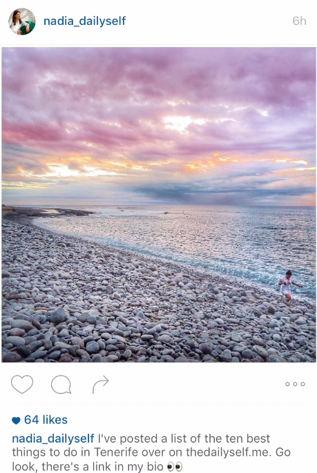 Ten of the best Irish Instagrammers to follow Nadia El Ferdaoussi the daily self