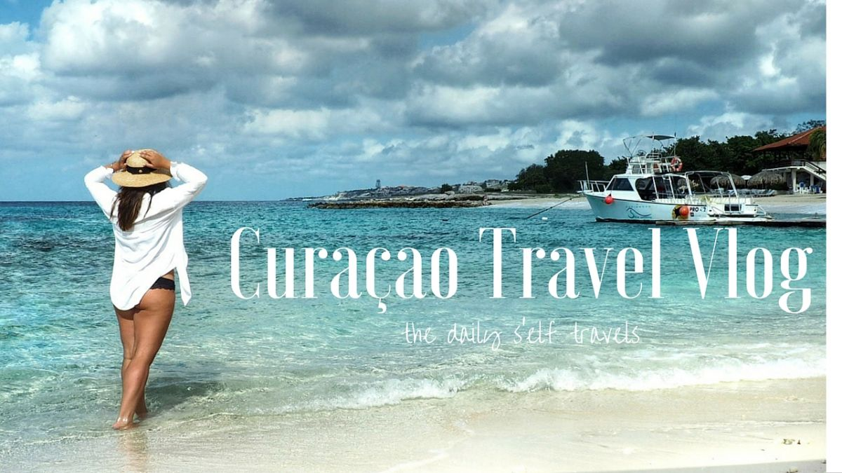Nadia El Ferdaoussi the daily self Travel Blogger and Writer Curacao youtube vlog Caribbean