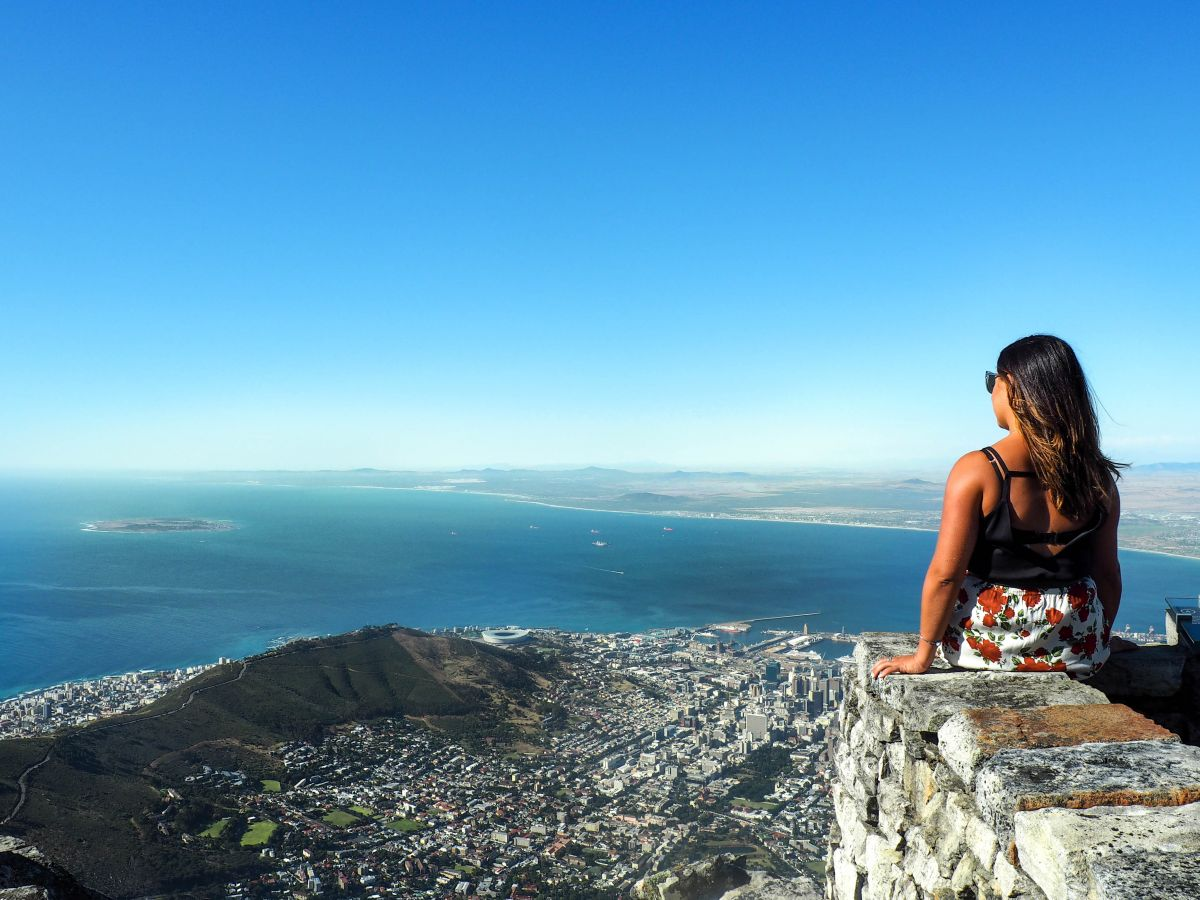 Nadia El Ferdaoussi the daily self Travel Blogger and Writer South Africa Cape Town Table Mountain