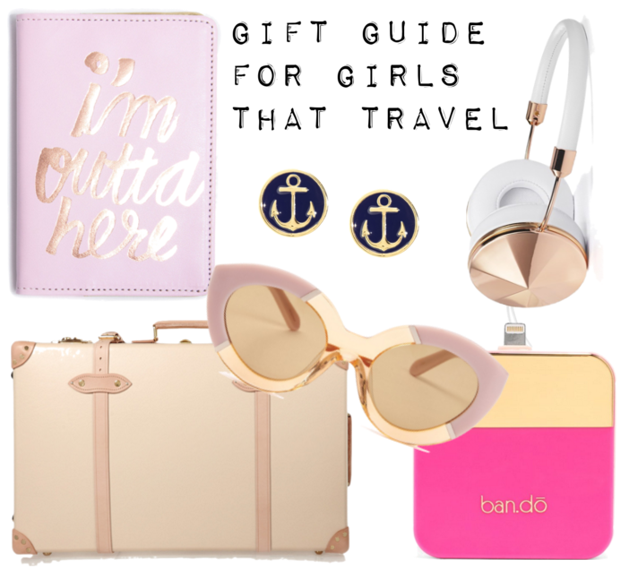 GIFT GUIDE FOR GIRLS WHO TRAVEL