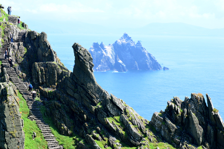Best places to visit in 2016 Nadia El Ferdaoussi travel blogger and writer Ireland Skellig Islands Star Wars