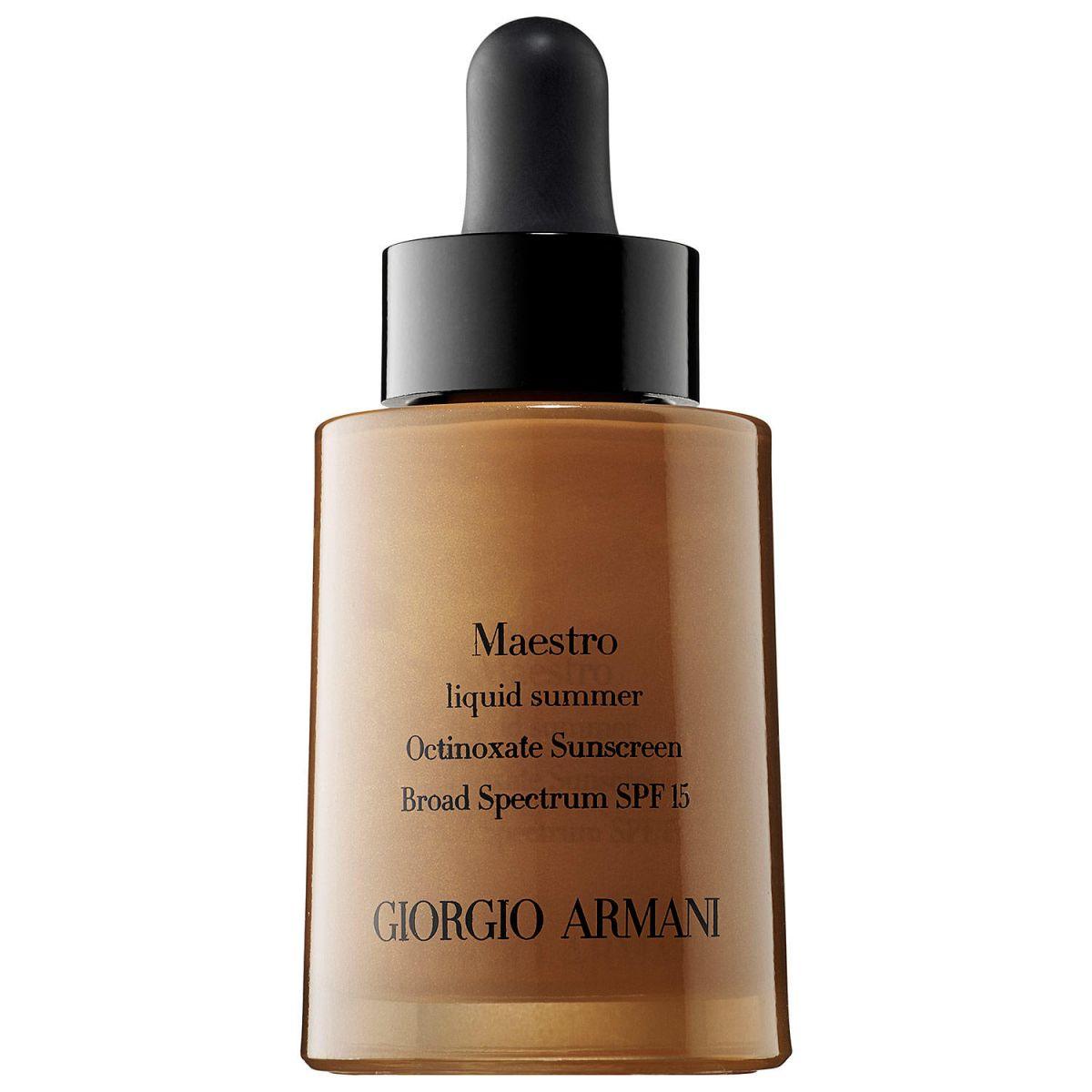 Georgio Armani Maestro Liquid Summer Get Ready Faster