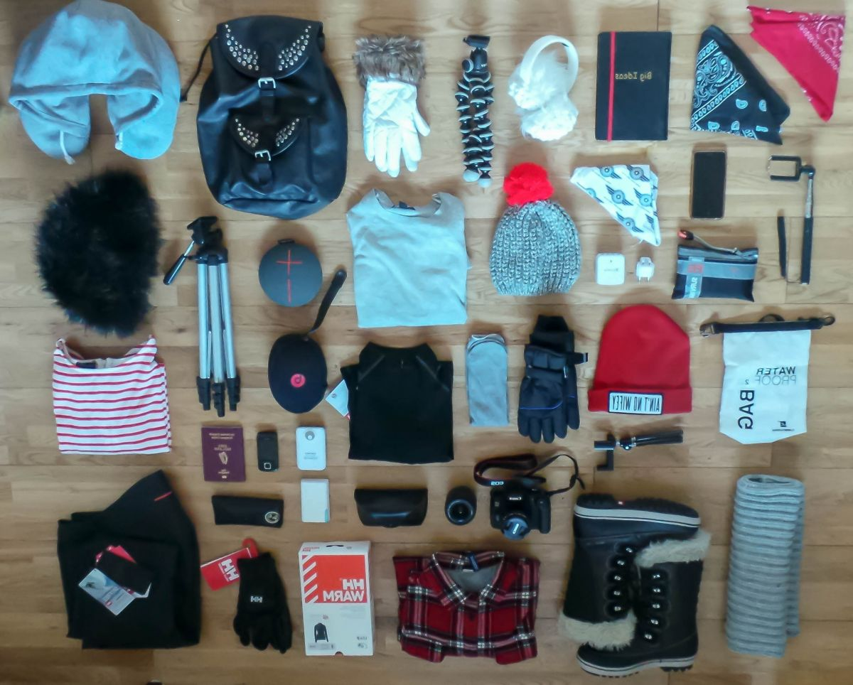 thedailyself.me What to pack for a winter week in Iceland Nadia El Ferdaoussi Isafjordur Westfjords