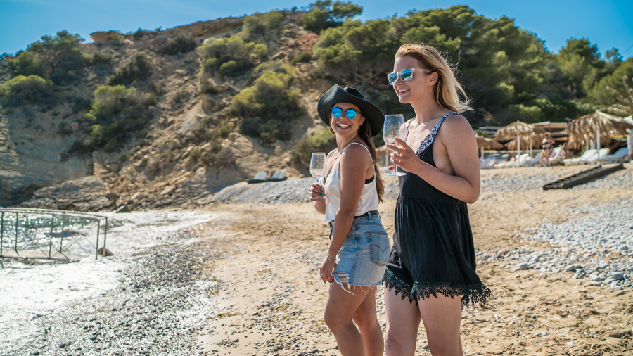 Nadia El Ferdaoussi thedailyself.me Jodie DS Photography for Essential Ibiza Tropicana Beach