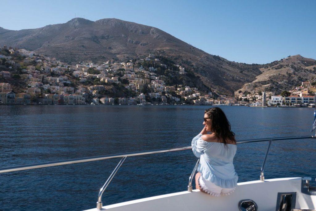 Nadia El Ferdaoussi Travel Blogger Rhodes Greece Symi Athens Aegean TUI Discover Your Smile Winter Sun Holiday sun sea sailing and sponges on Symi island