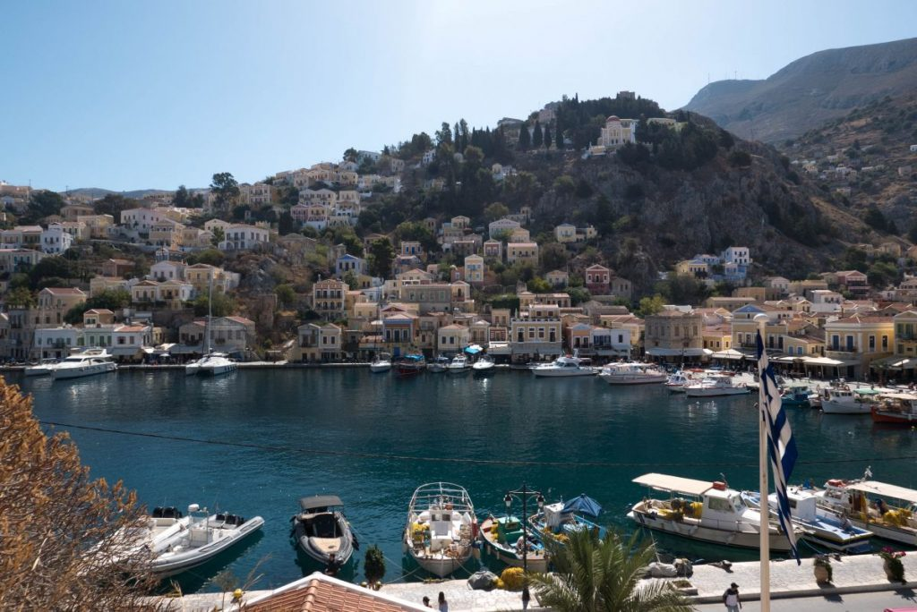 Nadia El Ferdaoussi Travel Blogger Rhodes Greece Symi Athens Aegean TUI Discover Your Smile Winter Sun Holiday sun sea sailing and sponges on Symi island