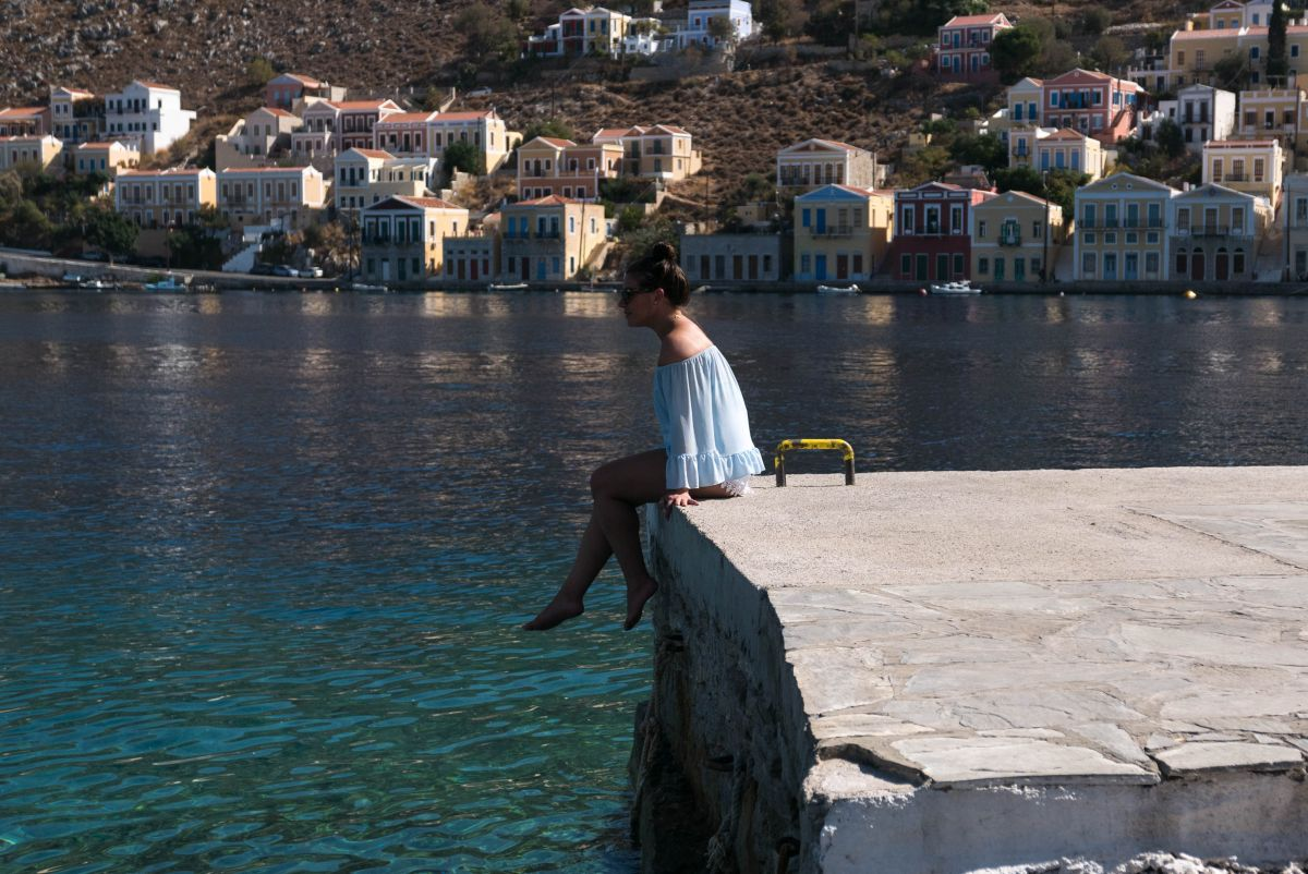 SUN, SEA, SAILING AND SPONGES ON SYMI ISLAND