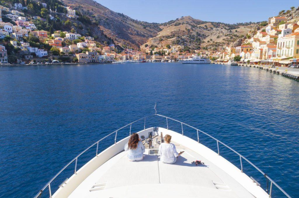Photo: Omar El Mrabt Nadia El Ferdaoussi Travel Blogger Amazing Greece Rhodes Aegean TUI Discover Your Smile Winter Sun Holiday sun sea sailing and sponges on Symi island