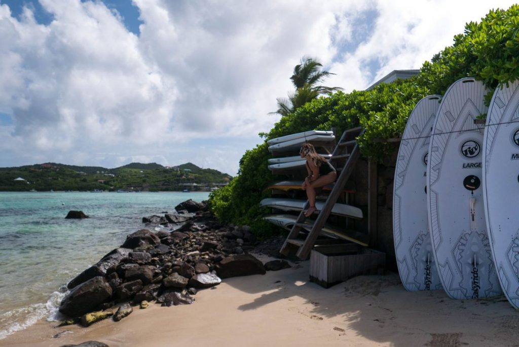 Le Guanahani St Barth Caribbean Travel Luxury Hotel Nadia El Ferdaoussi the daily self SUP