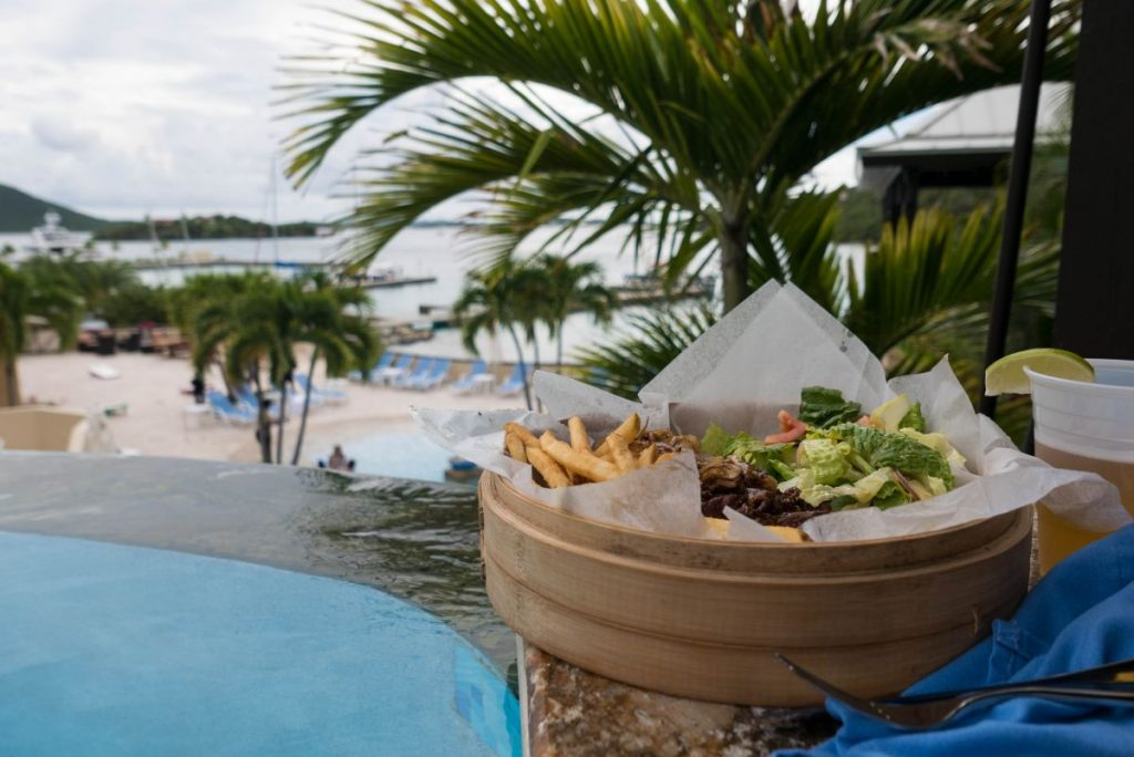 Scrub Island BVI private holiday vacation travel blogger British Virgin Islands Nadia El Ferdaoussi Caribbean