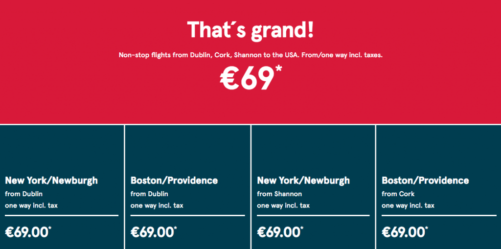 Cheap long haul flights Ireland to America bargain low cost airfare Nadia El Ferdaoussi travel blogger Norwegian Air Shuttle airline