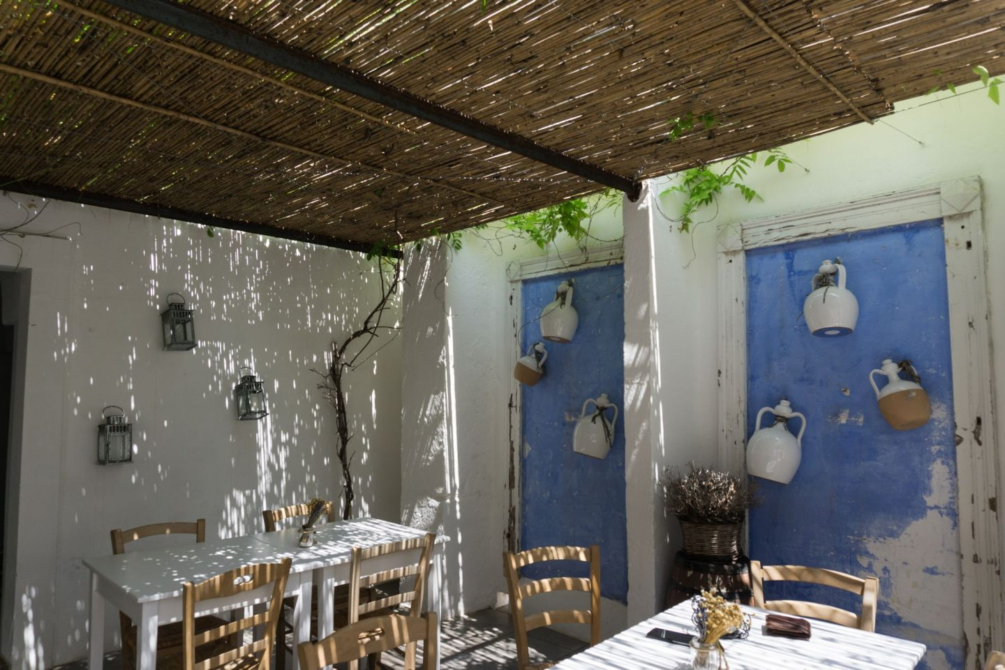 Nadia El Ferdaoussi, the daily s'elf, Brindisi, Puglia. Travel in Italy Il Cortiletto lunch trattoria