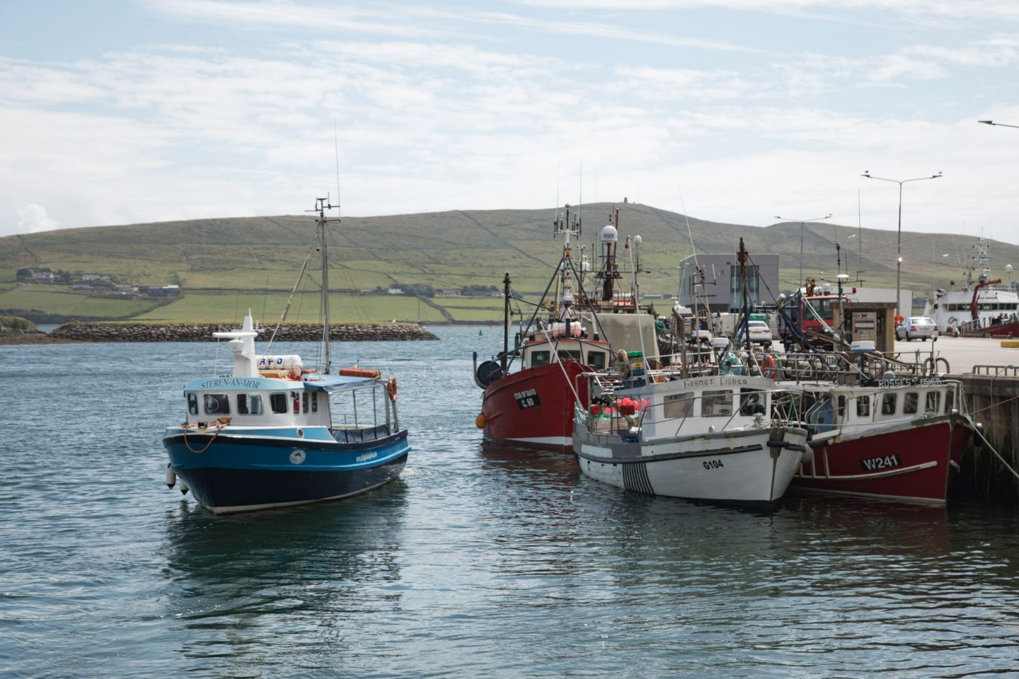 Boats in Dingle
