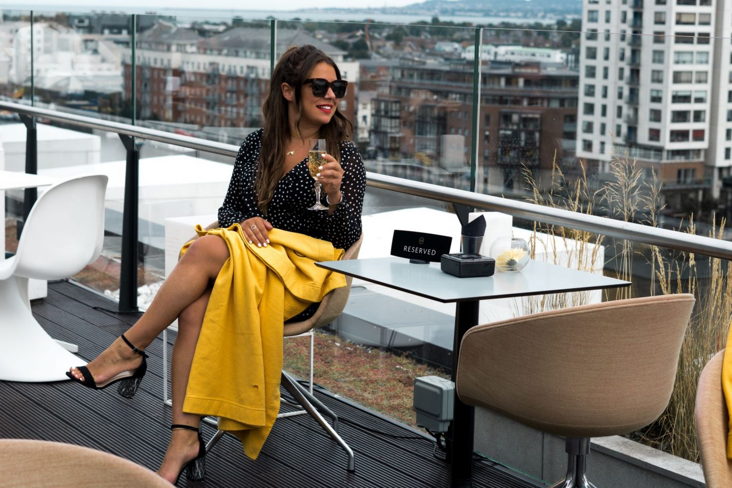 Staycation Tourist at Home Nadia El Ferdaoussi Things to do in Dublin Ireland Le Drunch Marker Hotel