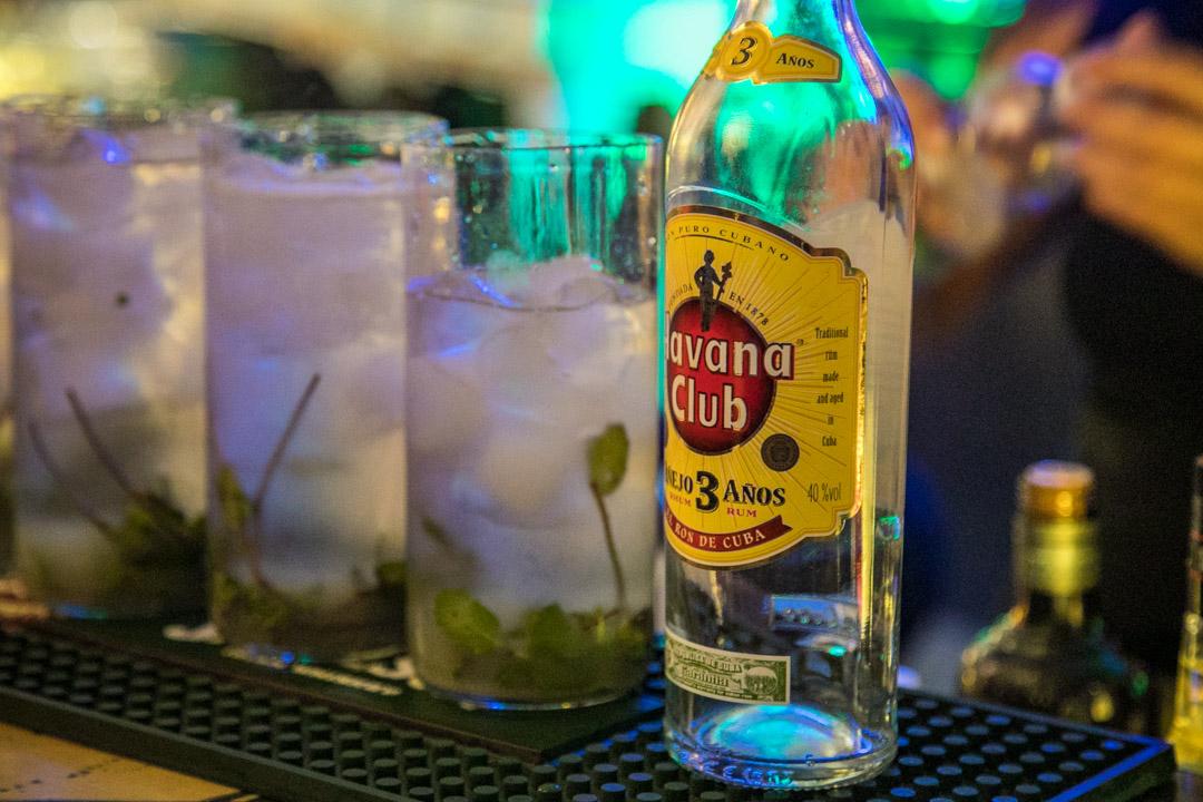 Havana Club rum mojitos Fabrica de Arte Cubano Havana
