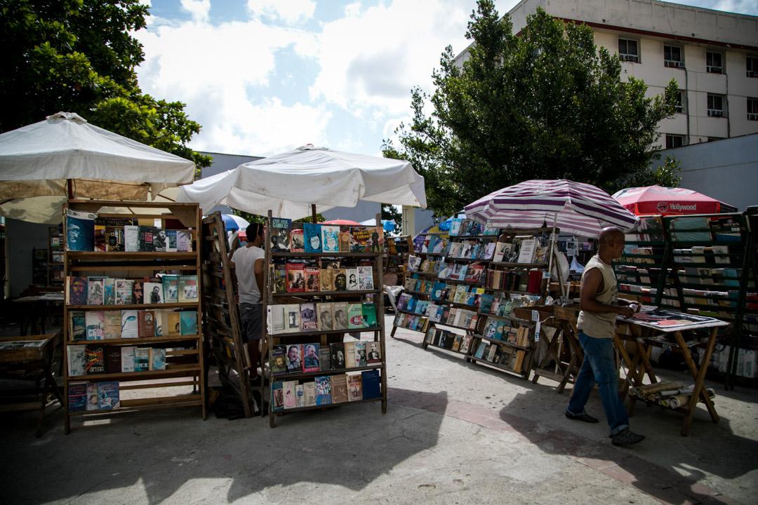 Plaza de Armas vintage market Old Havana