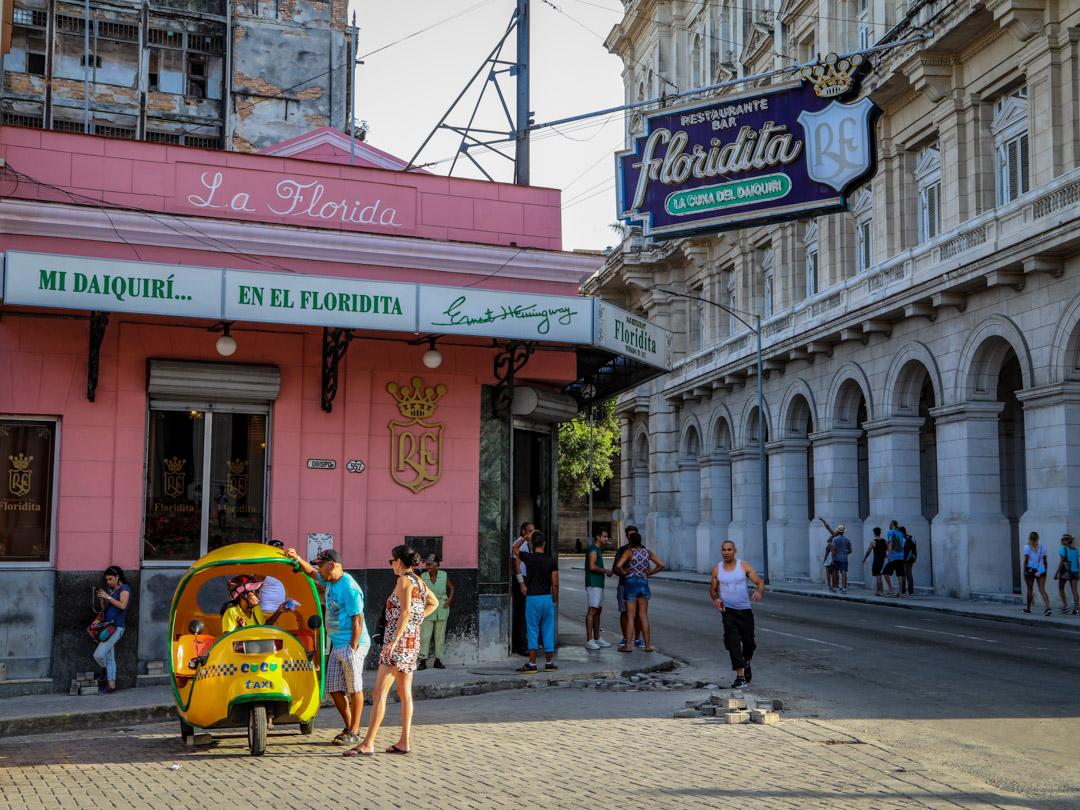 Floridita bar Havana