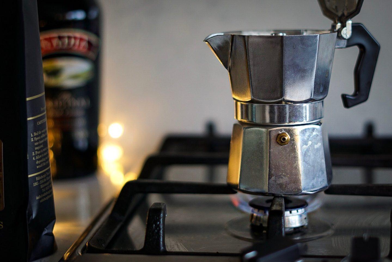 TK Maxx Italian caffettiera moka pot vanilla coffee and baileys
