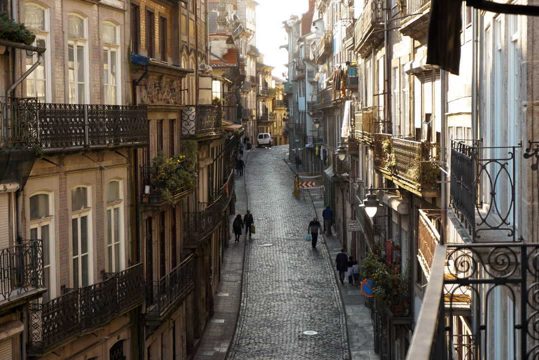 Porto Portugal accommodation and street