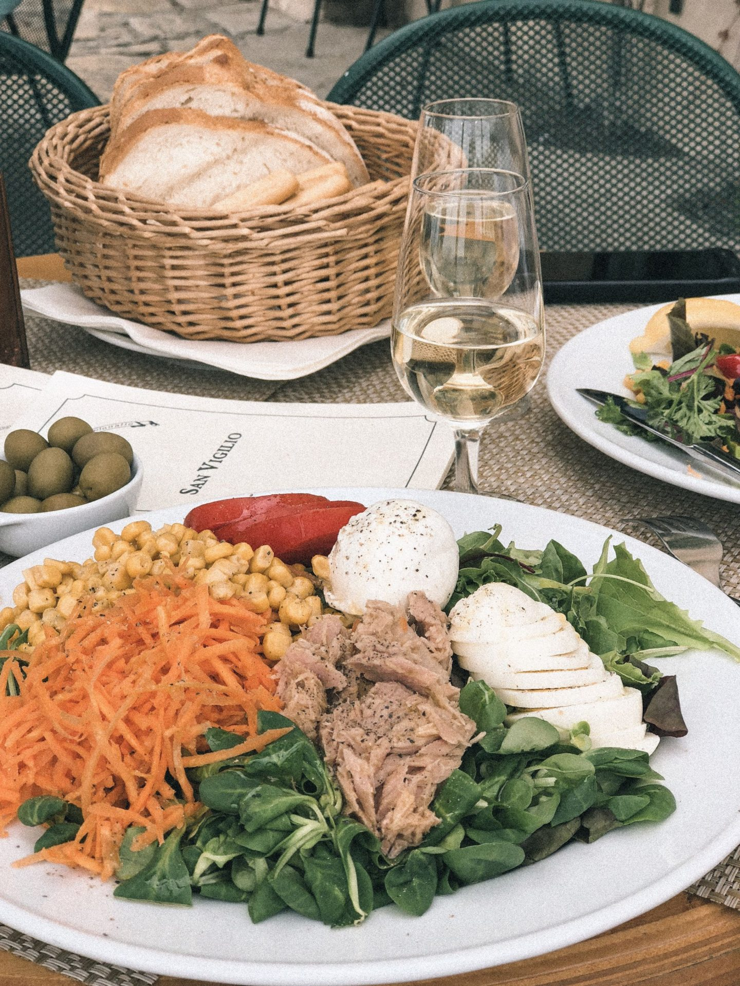 Punta San Vigilio Taverna Salad Lake Garda Guide