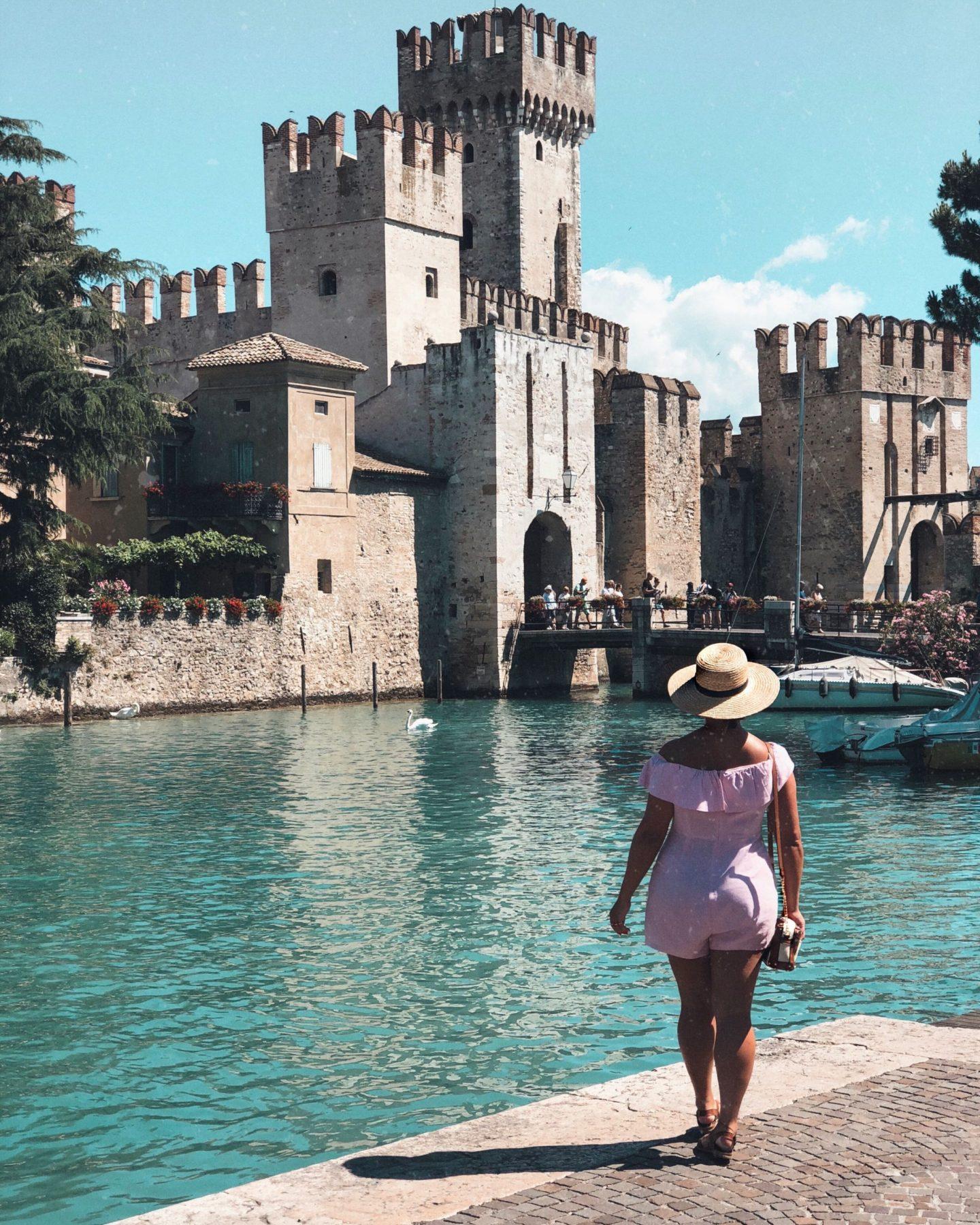 Lake Garda Guide Nadia El Ferdaoussi at Sirmione