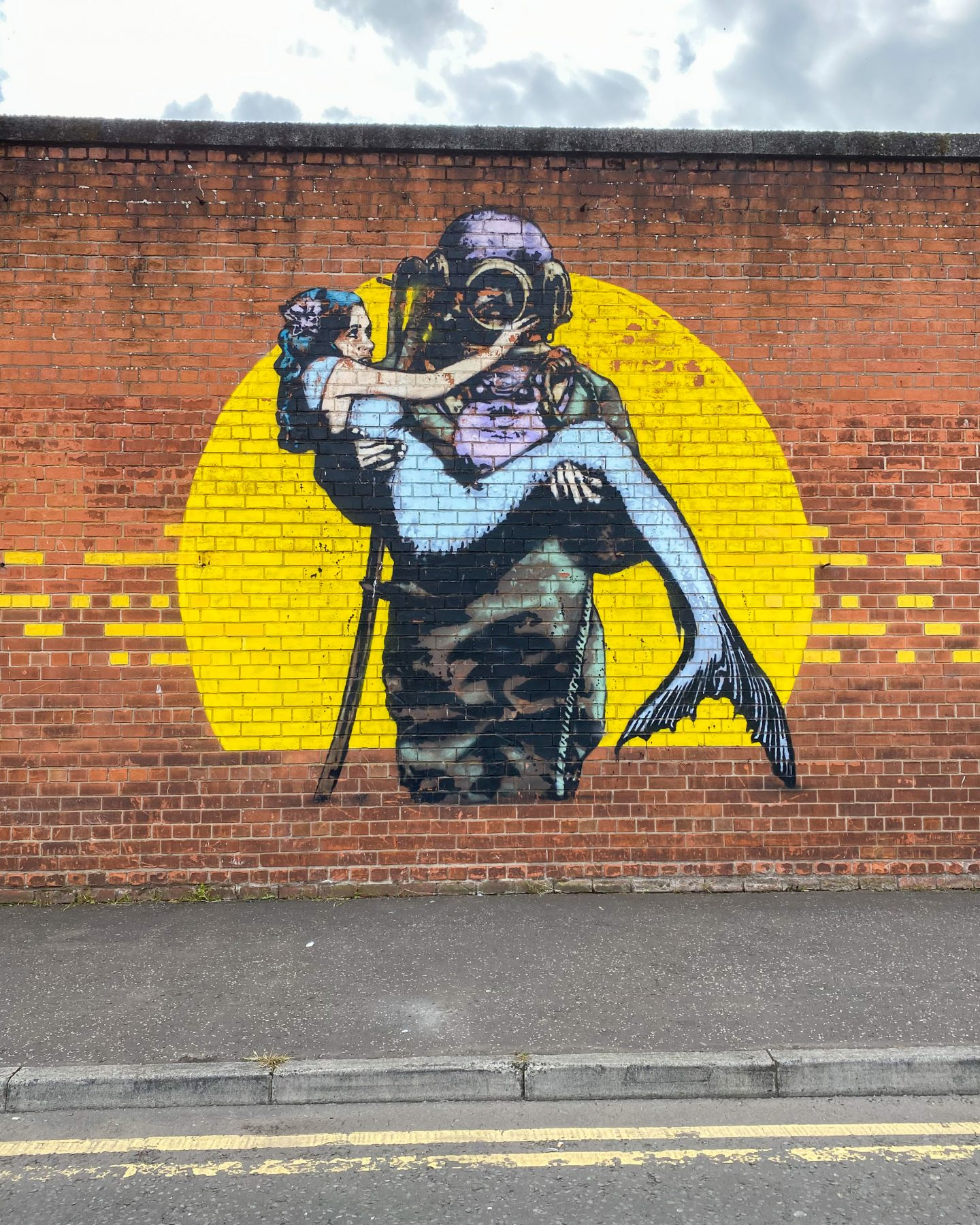 Street art in Belfast
