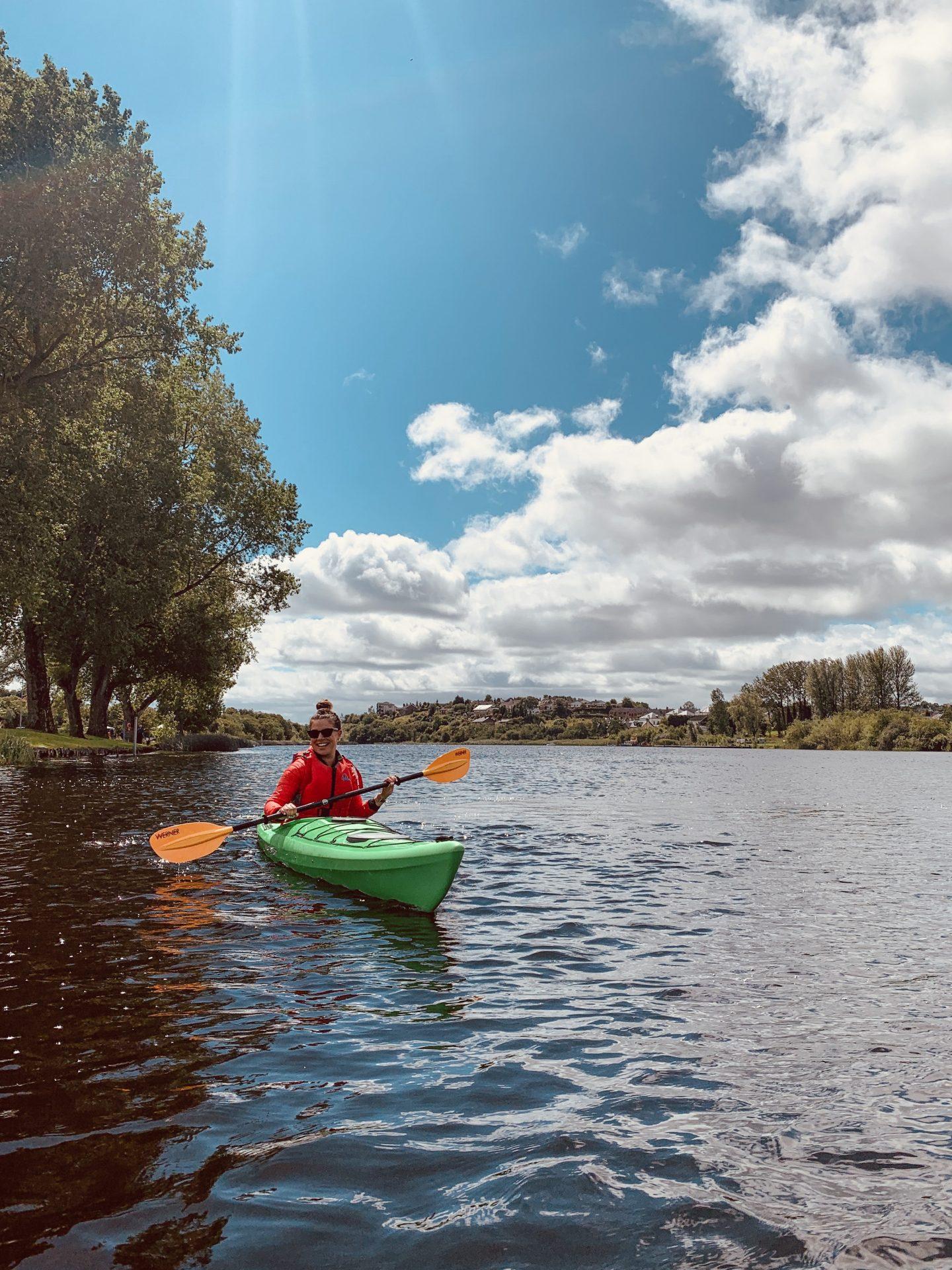 Kayaking with Blueway Water Activity Zone Enniskillen. Fermanagh Staycation