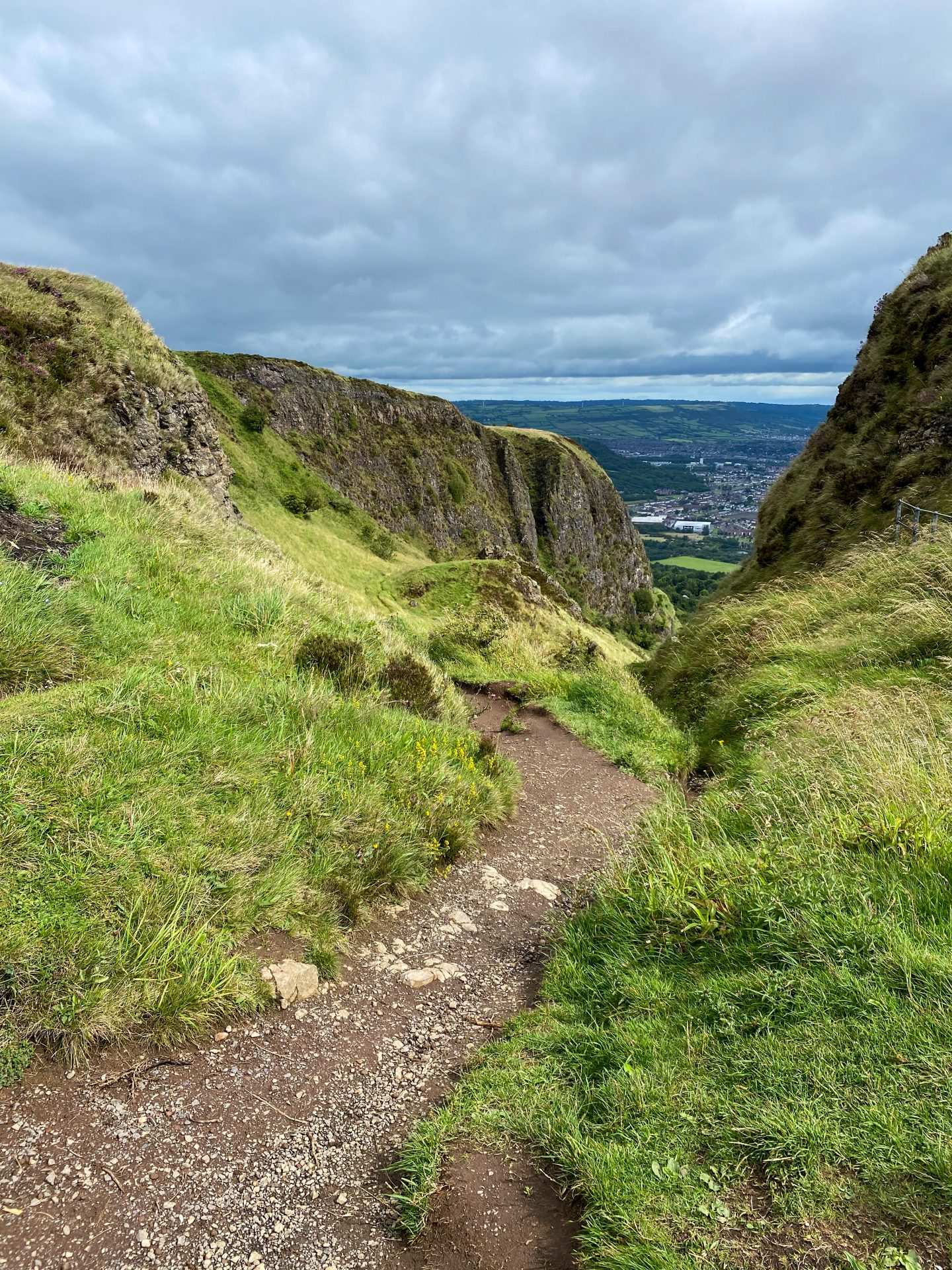 Cave Hill walk with view of Belfast