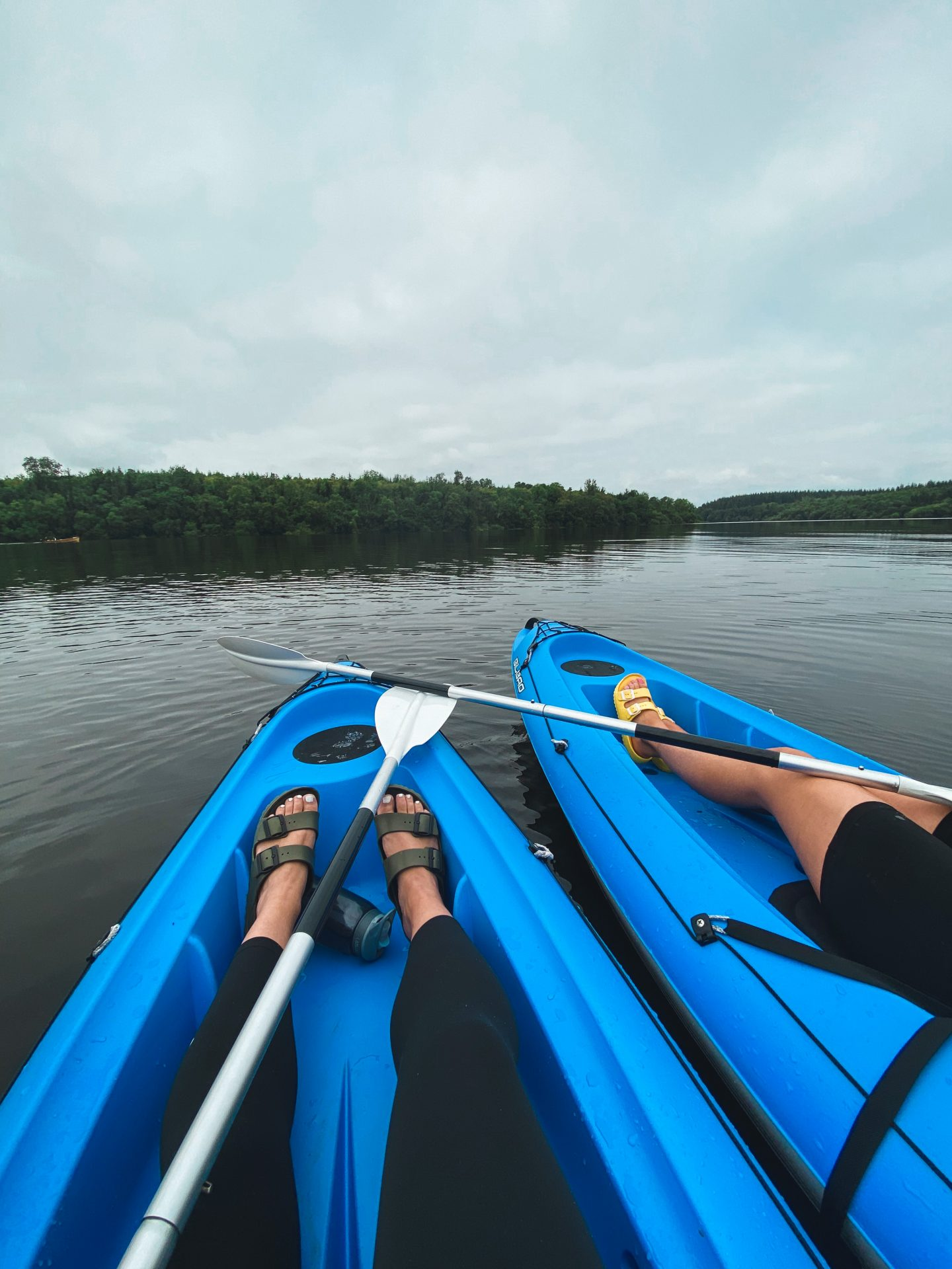 kayaking at cabu cavan