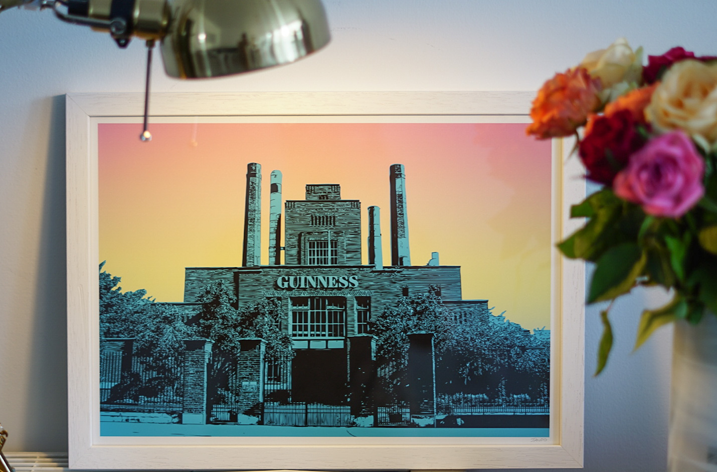 JANDO St James' Gate Brewery print Christmas gift guide