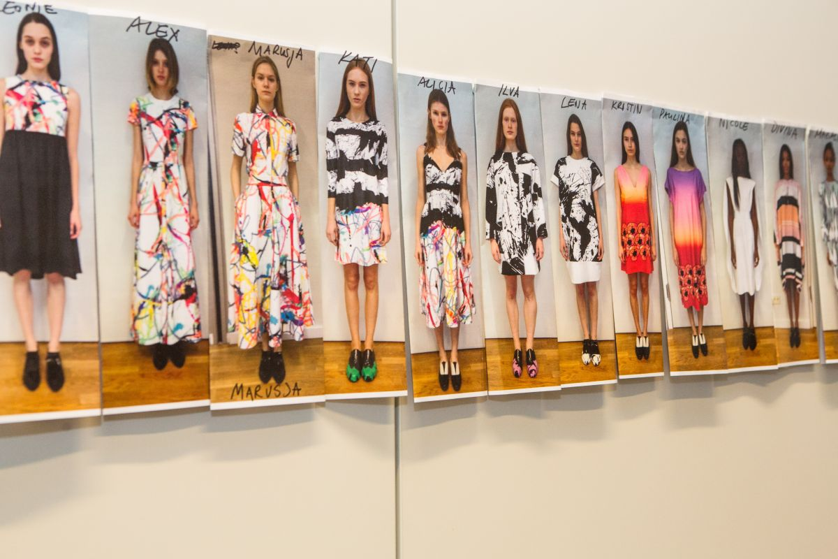 Giles Deacon Washable Collection P&G Ariel Lenor Berlin 2014 Future Fabrics