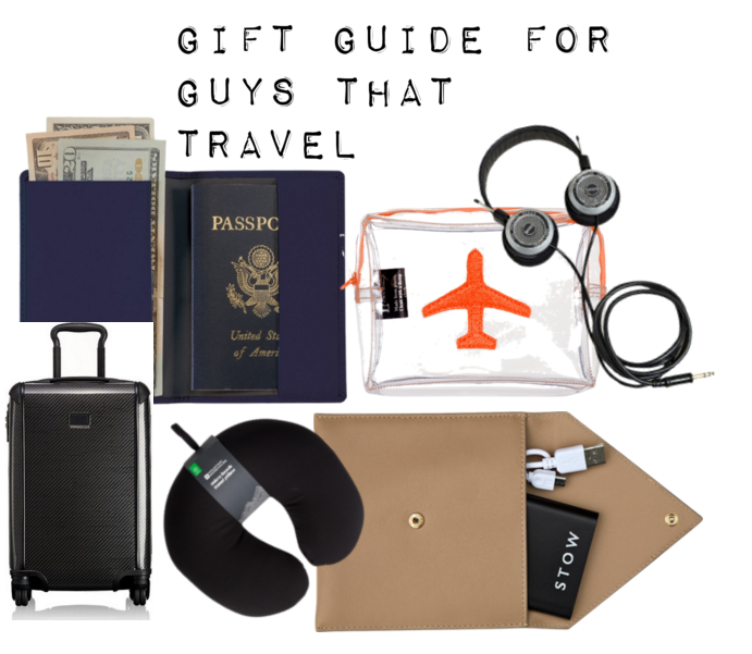 gift guide for guys that travel