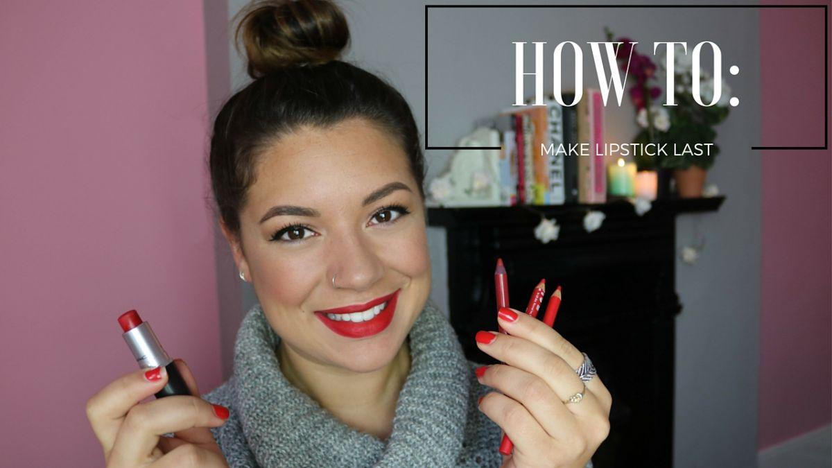 How to make lipstick last Tutorial Thursdays
