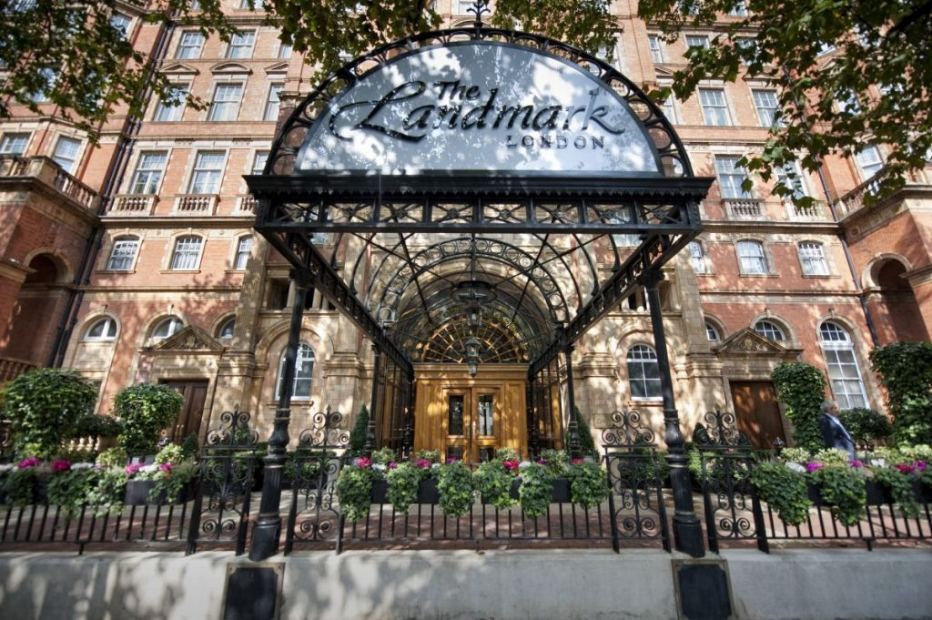 The Landmark London five star luxury hotel Nadia El Ferdaoussi travel blogger writer influencer