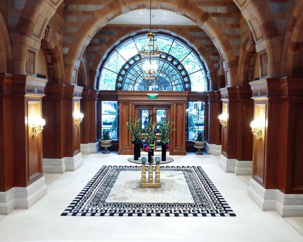 The Landmark London five star luxury hotel Nadia El Ferdaoussi travel blogger writer influencer