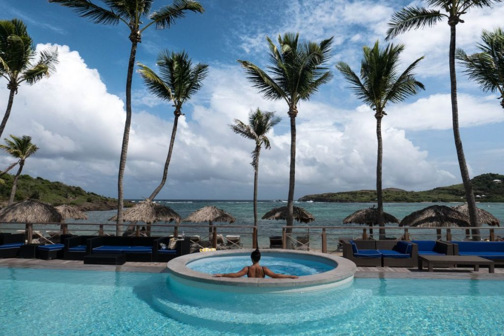 Le Guanahani St Barth Caribbean Travel Luxury Hotel Nadia El Ferdaoussi the daily self SUPLe Guanahani St Barth Caribbean Travel Luxury Hotel Nadia El Ferdaoussi the daily self swimming pool