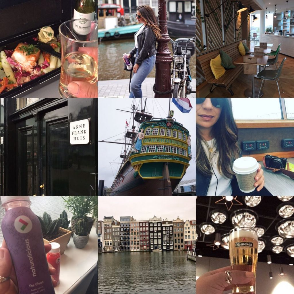 Nadia El Ferdaoussi 48 Hours in Amsterdam with KLM Travel and Style Blogger Schipol NH Doelen