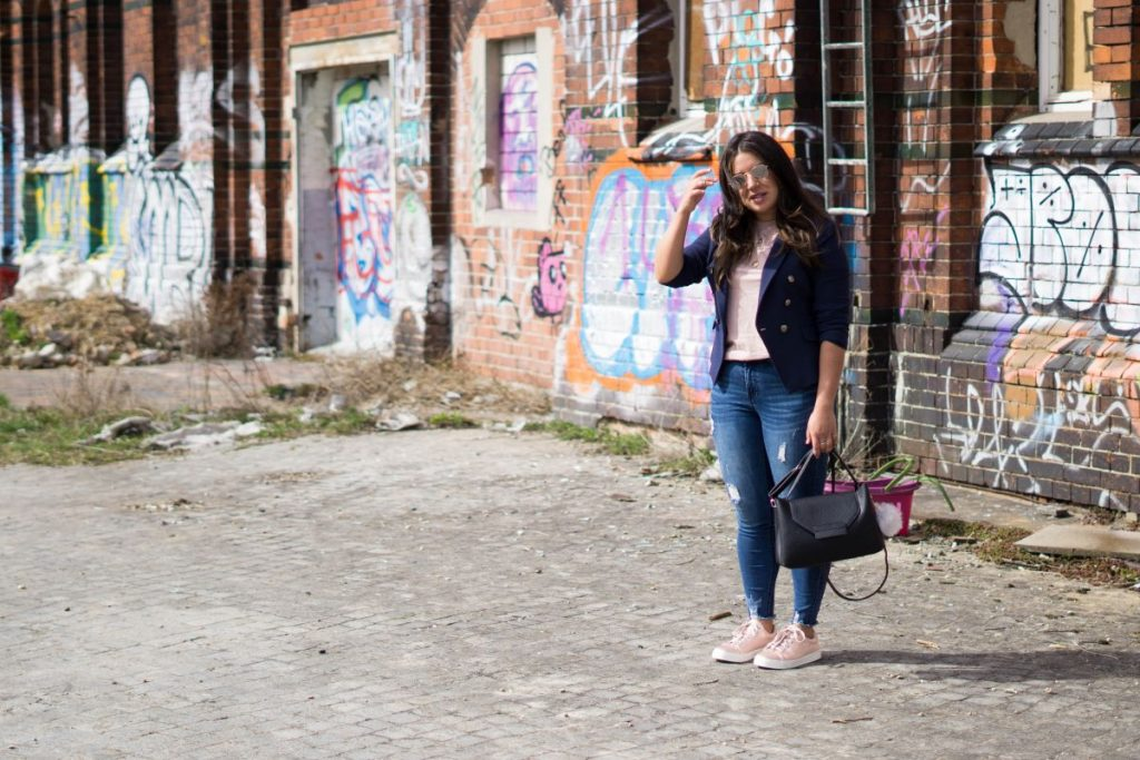 Nadia El Ferdaoussi 48 Hours in Berlin with Primark Travel and Style Blogger