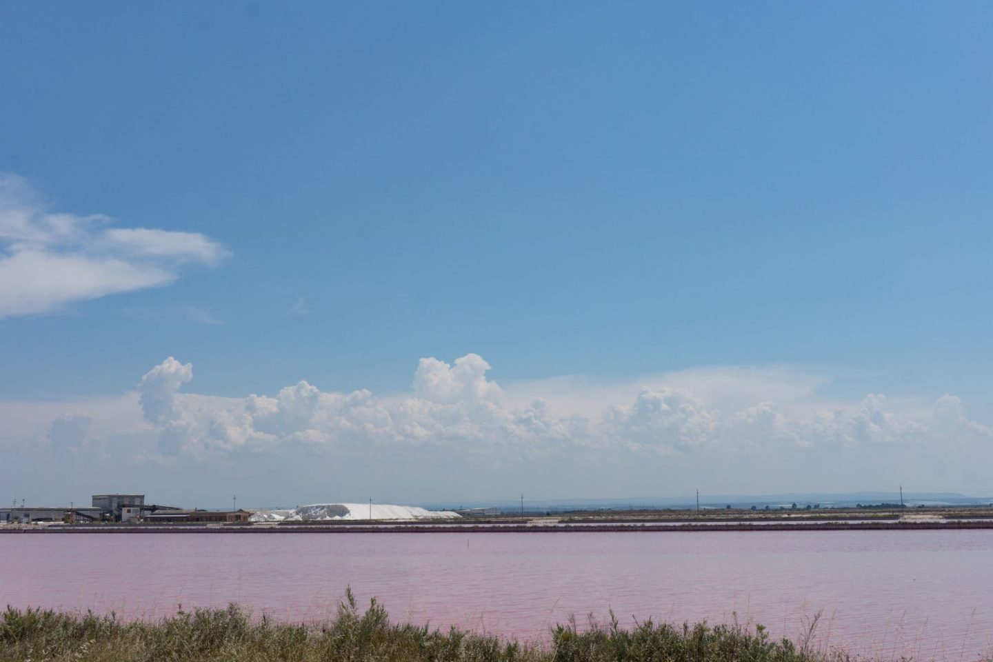 Margherita de Savoia Puglia Nadia El Ferdaoussi Travel Blogger and Writer Italy Salt pans lakes pink