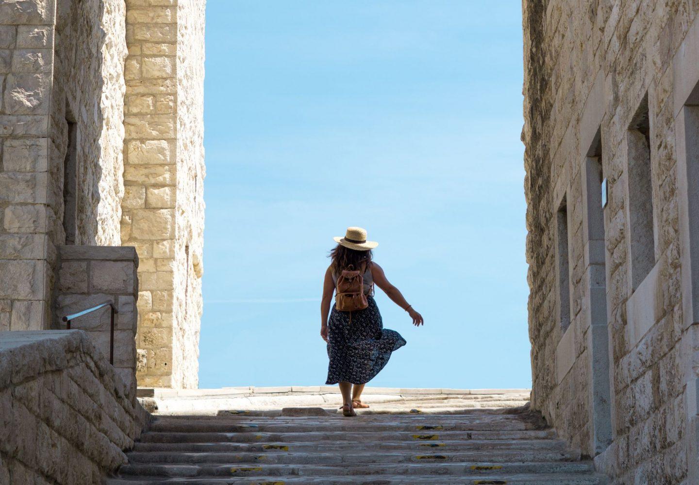 Margherita di Savoia Puglia Nadia El Ferdaoussi Travel Blogger and Writer Italy Barletta castle
