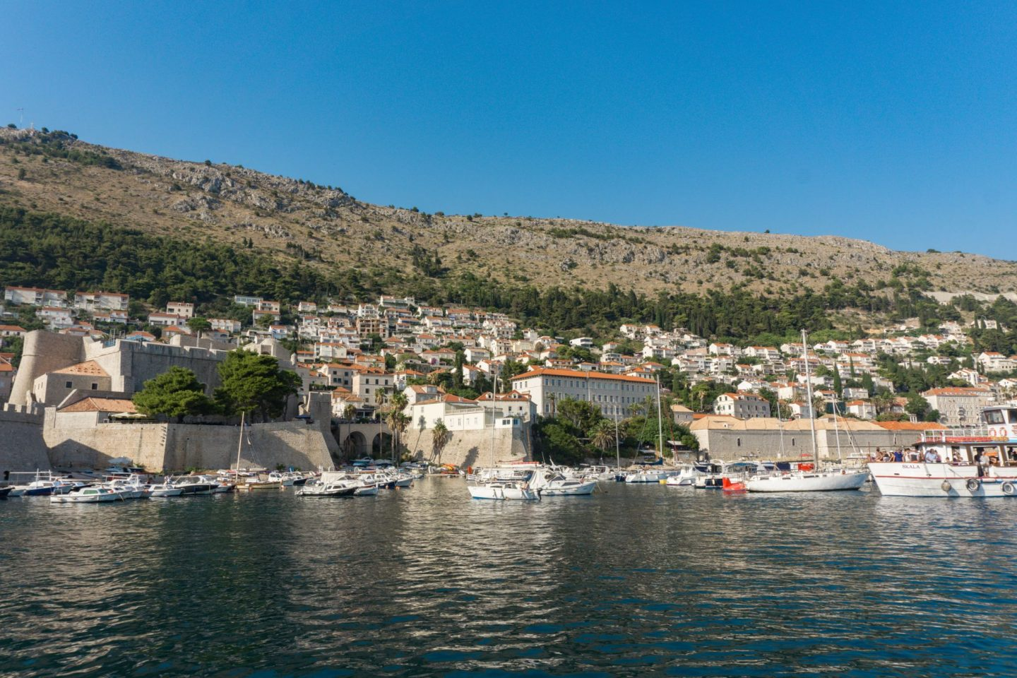 Travel Croatia Three Islands Tour Elafiti islands day trip Dubrovnik City Guide Internal Harbour Dubrovnik City Walls Nadia El Ferdaoussi the daily s'elf