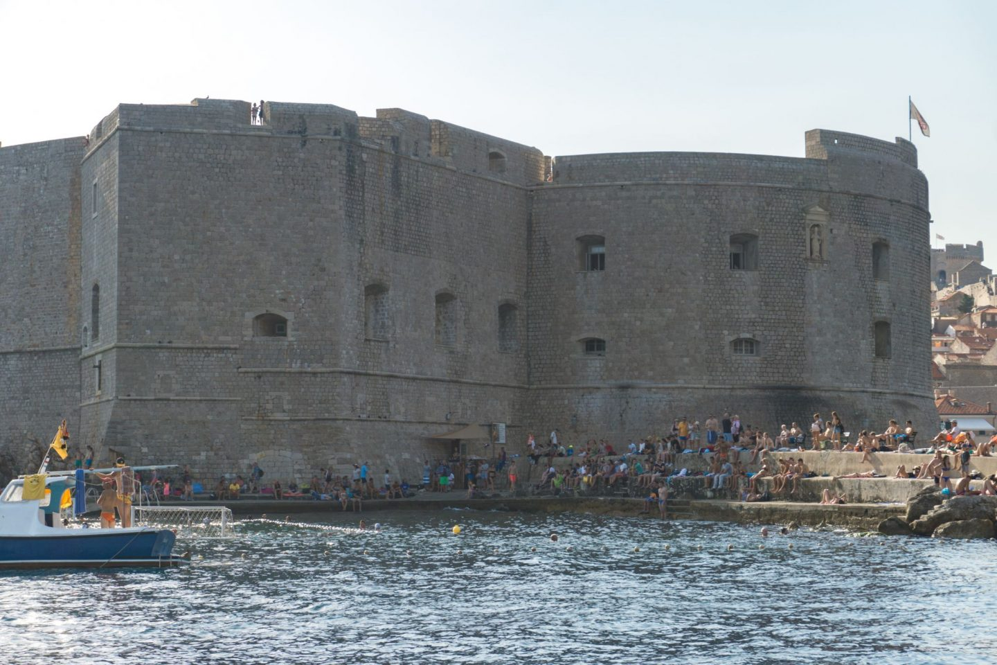 Travel Croatia Three Islands Tour Elafiti islands day trip Dubrovnik City Guide Internal Harbour Dubrovnik City Walls Nadia El Ferdaoussi the daily s'elf water polo