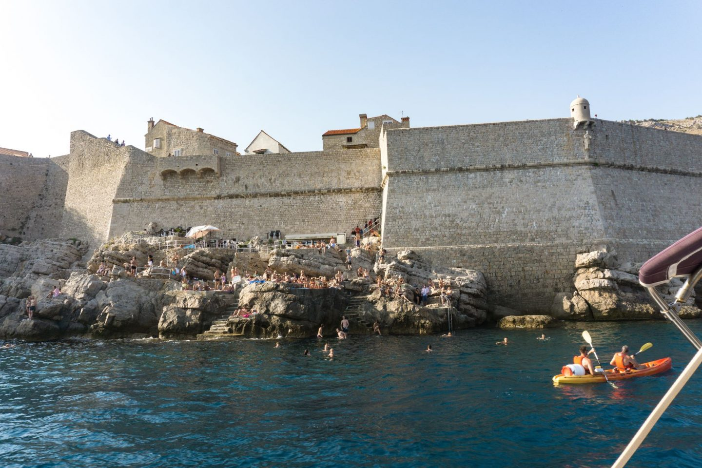 Travel Croatia Three Islands Tour Elafiti islands day trip Dubrovnik City Guide Internal Harbour Dubrovnik City Walls Nadia El Ferdaoussi the daily s'elf Buža bar cliff diving