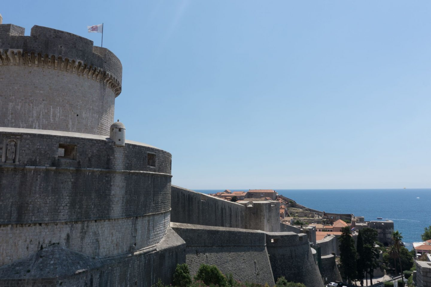 Travel Croatia Game of Thrones walking tour Dubrovnik City Guide Nadia El Ferdaoussi the daily s'elf Dubrovnik Old Town City Walls