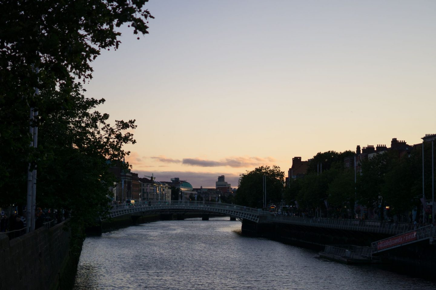 Staycation Tourist at Home Nadia El Ferdaoussi Things to do in Dublin Ireland H'Apenny Bridge
